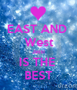 EAST AND  West Jassi IS THE  BEST - Personalised Poster large