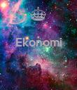 Ekonomi    - Personalised Poster large