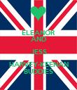 ELEANOR AND JESS HARVEY-KEENAN BUDDIES - Personalised Poster large