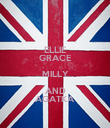 ELLIE GRACE MILLY AND AGATKA - Personalised Poster large