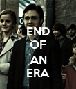 END OF  AN ERA - Personalised Poster large