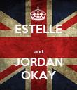 ESTELLE  and JORDAN OKAY - Personalised Poster large