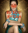 EU SOU  RYCAH    - Personalised Large Wall Decal