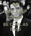 FIEN, KEEP CALM AND BE COOL AS BASS - Personalised Poster large