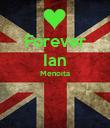 Forever Ian Menoita   - Personalised Poster large