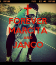 FOREVER MARCITA AND JANCO  - Personalised Poster large