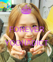 FOREVER  YOONADICT  - Personalised Poster large