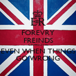 FOREVRY FREINDS CHARLOTTE EVEN WHEN THINGS GO WRONG - Personalised Poster large