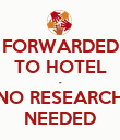 FORWARDED TO HOTEL - NO RESEARCH NEEDED - Personalised Poster large