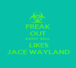 FREAK OUT KATHY STILL   LIKES JACE WAYLAND - Personalised Poster large