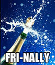 FRI-NALLY - Personalised Poster large