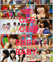 GEE GEE GEE BABY BABY - Personalised Poster large