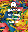 genne stress Vastelaovend same  - Personalised Large Wall Decal