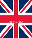 GEORGIA   - Personalised Poster large