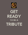 GET READY TO BE A TRIBUTE  - Personalised Poster large
