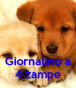 Giornalino a 4 zampe - Personalised Poster large