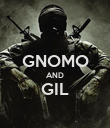GNOMO AND GIL  - Personalised Poster large