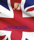 GOOD LUCK MATTHEW MILTON KEYNES GYMNASTICS  - Personalised Poster large