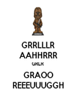GRRLLLR AAHHRRR GRLR GRAOO REEEUUUGGH - Personalised Large Wall Decal