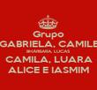Grupo GABRIELA, CAMILE BHÁRBARA, LUCAS CAMILA, LUARA ALICE E IASMIM - Personalised Poster large