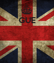 GUE     - Personalised Poster large