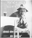 """""""Ha fàt el sei al superenalòt ... chisà che misura porta, de calsón"""" - Personalised Poster large"""