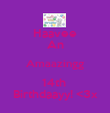 Haavee An Amaazingg 14th  Birthdaayy! <3x - Personalised Poster large