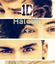 Haleigh +    - Personalised Poster large