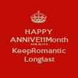 HAPPY ANNIVE11Month ADIL&LITA KeepRomantic Longlast - Personalised Poster large