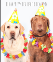 HAPPY BIRTHDAY!  - Personalised Poster large