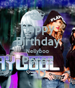 Happy Birthday Nellyboo Perez =D - Personalised Poster large