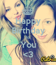 Happy Birthday to You <3 - Personalised Poster large