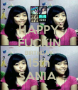 HAPPY FUCKIN BIRTHDAY 15th SANIA  - Personalised Poster large