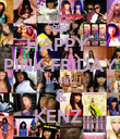 HAPPY  PINK FRIDAY BARBZ & KENZ  - Personalised Poster large