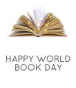 HAPPY  WORLD BOOK DAY - Personalised Poster large