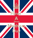 Have  A Great Mothers Day - Personalised Poster large