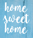 home sweet home - Personalised Poster large