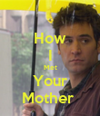 How I Met Your Mother  - Personalised Poster large