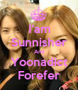 I'am Sunnisher And Yoonadict Forefer - Personalised Poster small