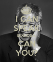 I CAN SPEAK ISIXHOSA, CAN YOU? - Personalised Poster large