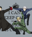 I CAN'T KEEP CALM BECAUSE SEASON 5 IS COMING - Personalised Poster large