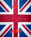 I ... LOF ... LEAN - Personalised Poster large
