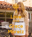 I Love Chloë Grace Moretz - Personalised Poster large