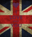 I LOVE ONLY YOU  - Personalised Poster small
