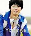 I Love you Bety Yonghwa - Personalised Poster large