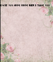 I love you jiggle giggle when I tickle you  - Personalised Poster large