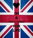 I'M A DIRECTIONER FOR LIFE - Personalised Poster large