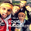 I'M A TOUGH MUDDER - Personalised Poster large