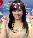 I M SONE FOR SNSD - Personalised Poster large