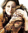 I'M TWIHARD AND LOVE ROBSTEN - Personalised Poster large